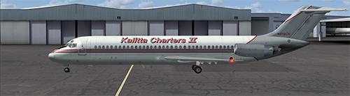 Kalitta Charters DC-9