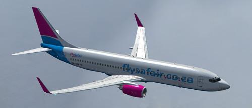 FS9 IFly B737-800 Flysafair