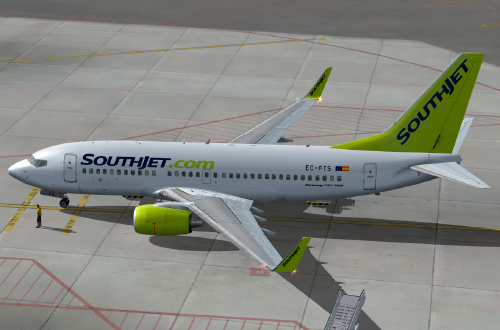 FS9 iFly 737 Southjet Virtual EC-FTS