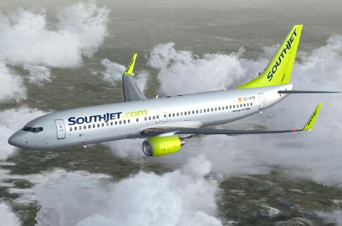 FS9 iFly 737 Southjet Virtual EC-FTR