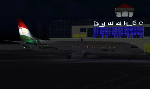 FS9 iFly 737 Somon Air P4-SOM